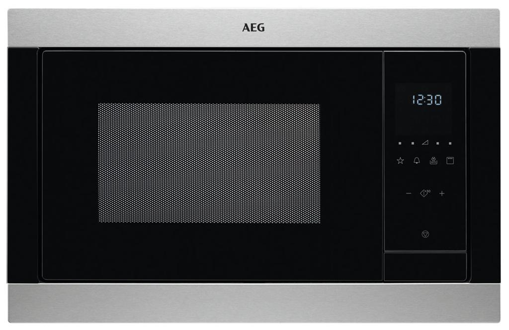 AEG MSB 2547 D-M Einbau-Mikrowelle mit Grill 1000 W Edelstahl 947 607 444