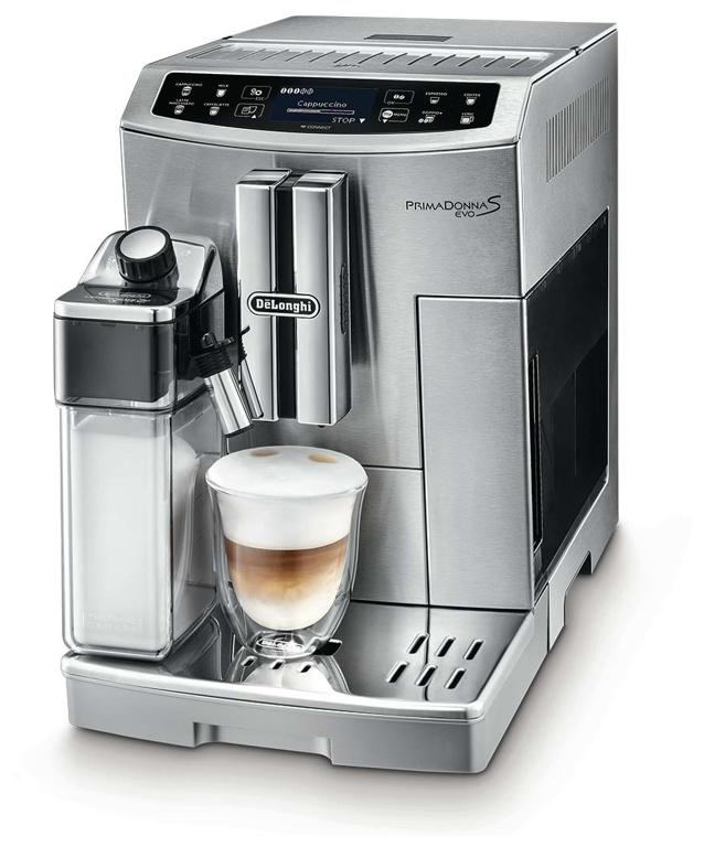 De'Longhi DELONGHI Prima Donna S EVO ECAM 510.5.5M Kaffeevollautomat ECAM 510.55.M