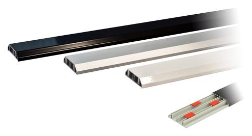 Goldkabel Kabelkanal Weiss 100cm