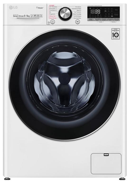 LG V9WD960 Waschtrockner 9 kg / 6 kg, A, 1400 U/min