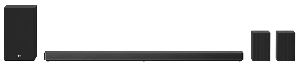 LG SN11R Soundbar, 7.1.4-Soundsystem