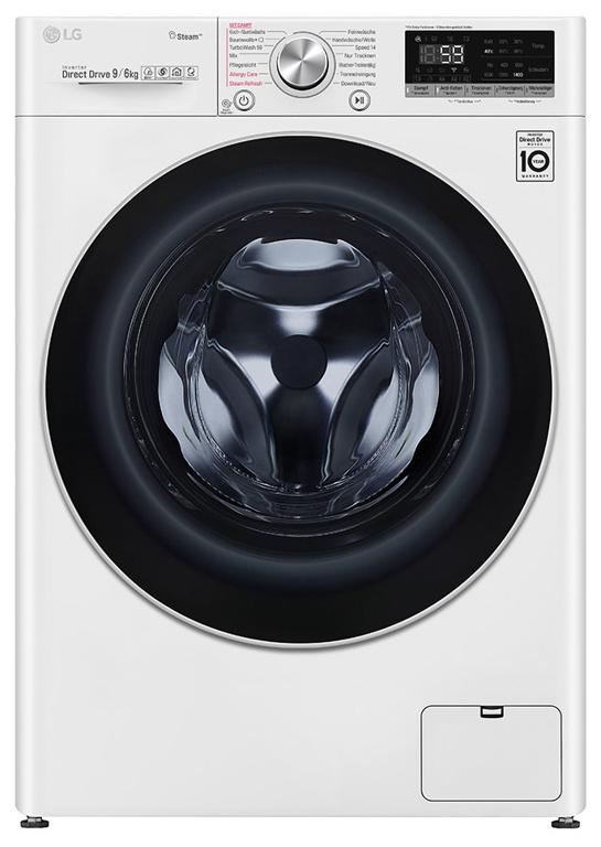 LG F14WD96TH2 Waschtrockner (9 kg/6 kg, 1400 U/Min) A