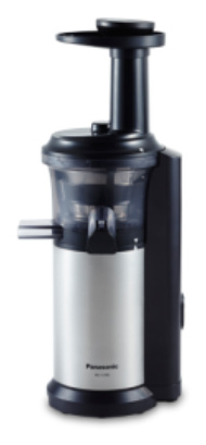 Panasonic MJ-L500 Langsamer Entsafter 150W Schwarz, Silber Saftpresse