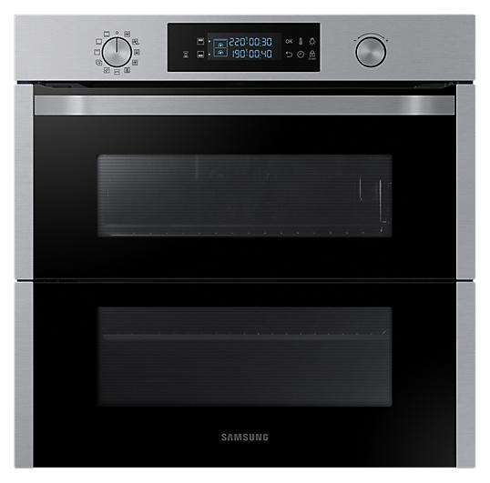 Samsung NV75N5641RS/EO Dual Cook Einbaubackofen 75 Liter, A+ 60 cm