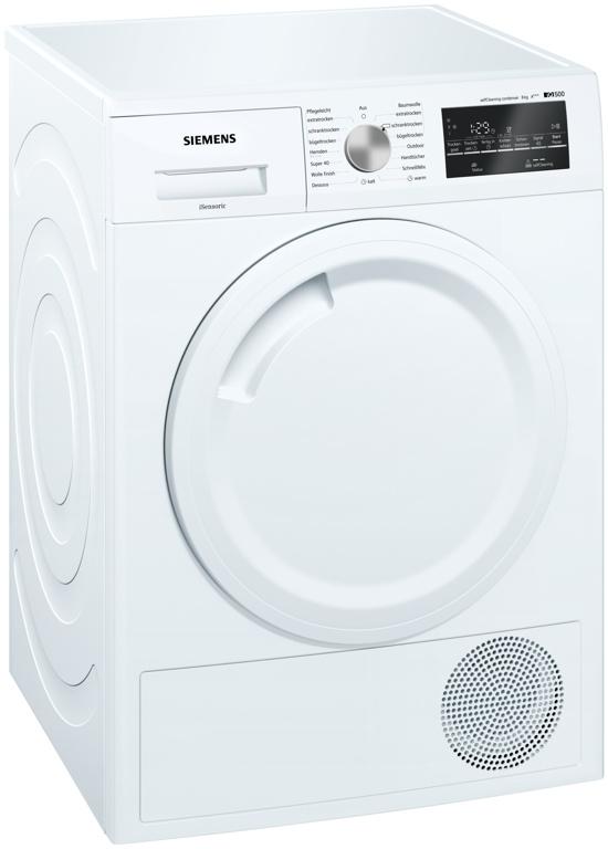 Siemens WT44W4A3 Wärmepumpentrockner, A+++, 8 kg, 64 dB