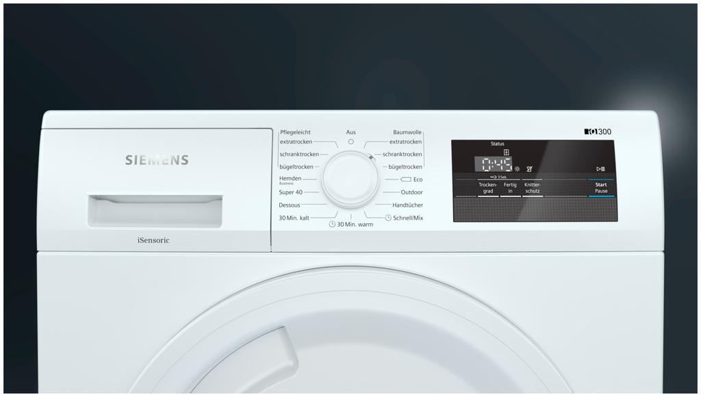 Siemens WT43H002 Wärmepumpentrockner, A+, 7 kg / 112 l, 65 dB