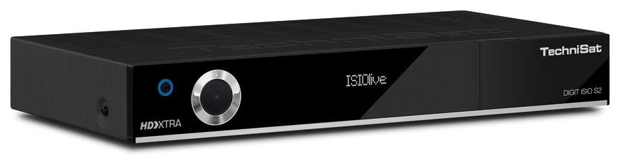 Technisat DIGIT ISIO S2 Sat Receiver schwarz 0000/4756