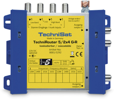 Technisat TechniRouter 5/2x4 G-R 0001/3292