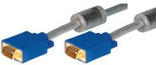 Tecline VGA Kabel 5 mtr. High Quality, vergoldet,ST/ST 38505M