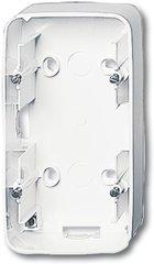 Busch-Jaeger Aufputz-Gehäuse 1702-24G, studioweiß hochglanz
