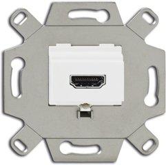 Busch-Jaeger HDMI-Anschlussdose 0261/32, alpinweiß