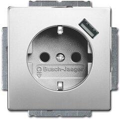 Busch-Jaeger SCHUKO® USB-Steckdose 20 EUCBUSB-866, edelstahl