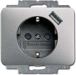 Busch-Jaeger SCHUKO® USB-Steckdose 20 EUCBUSB-266, titan