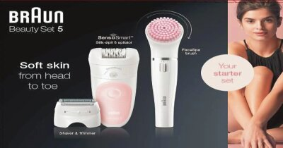 Braun Personal Care Silk-epil 5-875 BS SensoSmartT