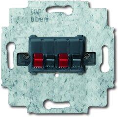 Busch-Jaeger Stereo-Lautsprecher-Anschlussdose 0248/02-101, weiß