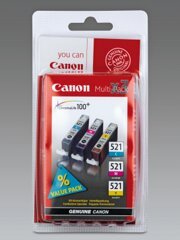 Canon CLI-521 Multipack C/M/Y