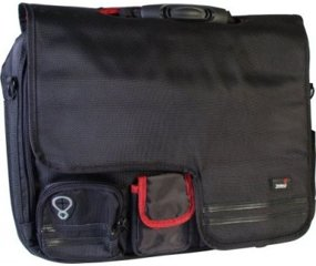 Carat Notebook/Laptoptasche NB-100 Soft, 15-17 Zoll, Schwarz
