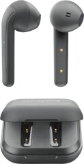 Cellularline In-Ear Kopfhörer BT JAVA TWSK, Grau
