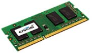 Crucial 4GB DDR3 1600 (PC3L-12800) SODIMM Notebook