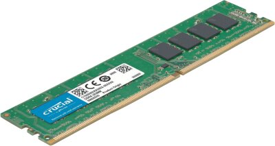Crucial 4GB DDR4 2400 DIMM (PC4-19200) CL17 Single