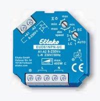 Eltako Universal-Dimmschalter UC. Power MOSFET bis 400W, ESL bis 400W und LED bis 400W