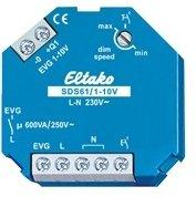 Eltako 1-10V-Steuer-Dimmschalter 1-10V für EVG. 1 Schließer nicht potenzialfrei 600VA und 1-10V-Steuerausgang 40mA