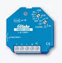 Eltako Funkaktor Multifunktions-Zeitrelais 230V. 1 Schließer potenzialfrei 10A/250V AC, Glühlampen 2000 Watt