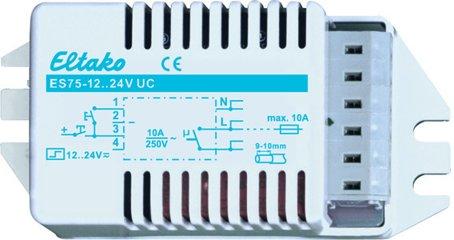 Eltako Stromstoßschalter für Leuchteneinbau 12..24V UC