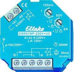 Eltako Stromstoß-Schaltrelais 230V+UC. 1 Schließer nicht potenzialfrei 10A/250VAC