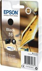 Epson 16 BK T1621, Tintenpatrone schwarz