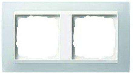 Gira 0213334 Abdeckrahmen 3fach Weiß