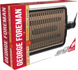 George Foreman George Foreman Smokeless BBQ Grill