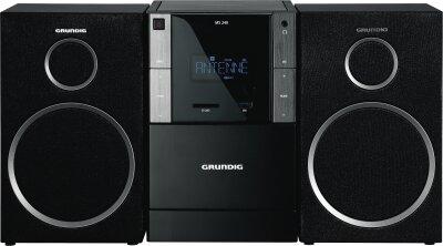 Grundig MS 240 Stereoanlage, 60 W