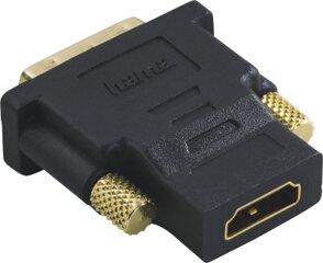 Hama 34035 Kompaktadapter DVI-D-Stecker-HDMI-Kuppl