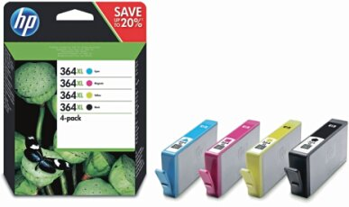 Hewlett Packard 364XL HP Combo Pack