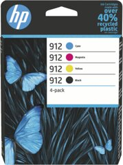 Hewlett Packard 6ZC74AE HP 912 4er-Pack BK/C/M/Y