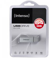 Intenso AluLine USB Drive 64GB
