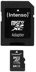Intenso 64GB SDXC Micro SD Card
