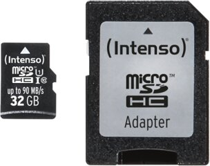 Intenso 32GB Micro SD Class 10, UHS-1 Professional