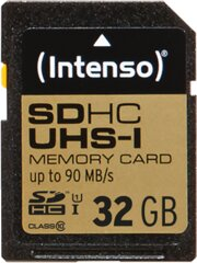 Intenso 32GB SD Class 10, UHS -1 Professional