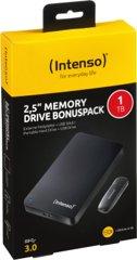 Intenso Memory Drive 1TB USB 3.0 schwarz inkl. USB