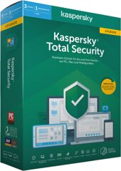 Kaspersky Total Security 3 Geräte Upgrade (2020)