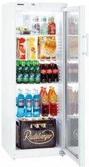 LIEBHERR FKV 3643-20 023 Gewerbe Flaschenkühlschrank mit Glastür, weiß