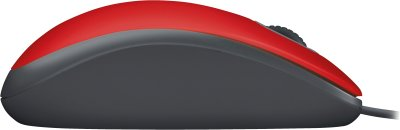 Logitech Mouse M110 Silent, 85g, Rot