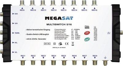 Megasat Multiswitch 5/16