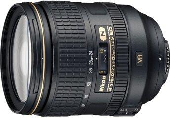 Nikon AF-S 24-120mm 1:4G ED VR (77 mm Filtergewinde) inkl. HB-53 (Bulk)