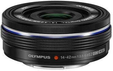Olympus M.ZUIKO DIGITAL ED 14-42mm 1:3.5-5.6 EZ Schwarz