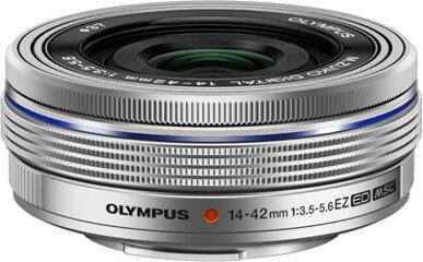 Olympus M.ZUIKO DIGITAL ED 14-42mm 1:3.55.6 EZ silber