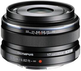 Olympus M.ZUIKO DIGITAL 17mm 1:1.8 schwarz