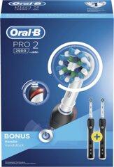 Oral-B Zahnbürste PRO 2 2900 Duopack Black Edition